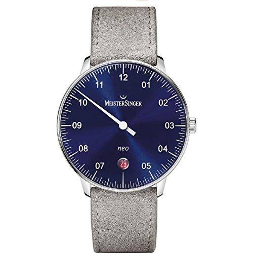 MeisterSinger Neo NE908N Reloj con sólo una aguja Clásico & sencillo