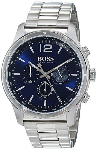 Hugo Boss Reloj Cronógrafo para Hombre de Cuarzo con Correa en Acero Inoxidable 1513527