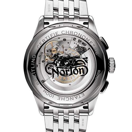 Breitling Norton Edition Premier B01 - Cronógrafo (42 mm, AB0118A21B1A1)