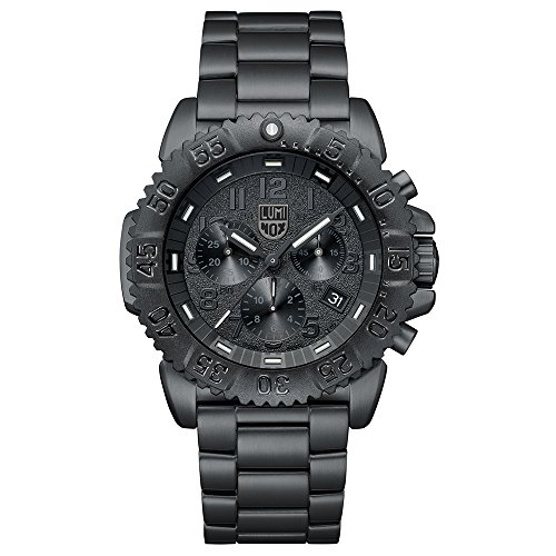 Luminox Reloj Cronógrafo para Hombre de Cuarzo con Correa en Acero Inoxidable XS.3182.BO.L