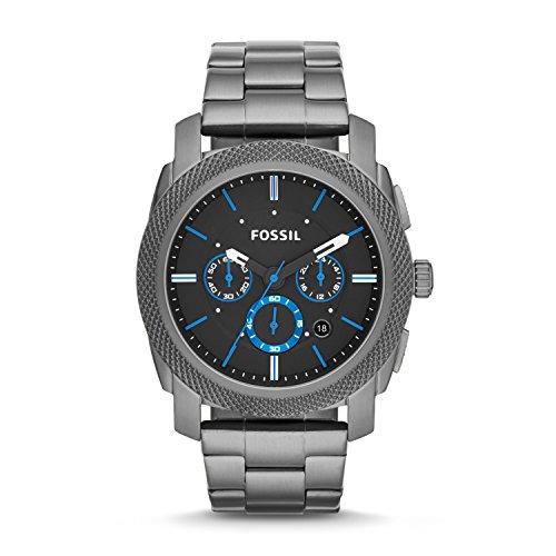 Fossil Reloj Cronógrafo para Hombre de Cuarzo con Correa en Acero Inoxidable FS4931