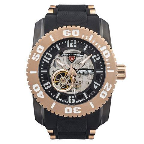 Swiss Legend Reloj Commander Automatic - SL-10068A-BB-01-RB