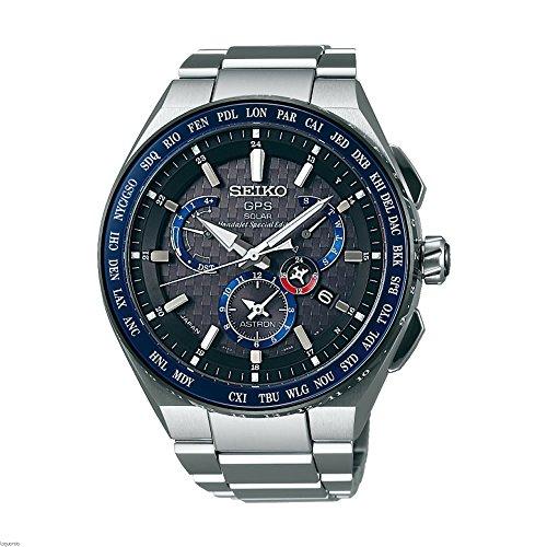 Reloj Seiko Astron SBXB133J Hombre Gris Calendario perpetuo