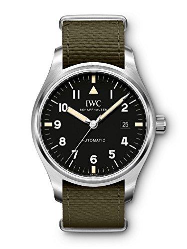 Marca de reloj de piloto IWC Schaffhausen XVIII edición homenaje a Mark XI modelo #: iw327007