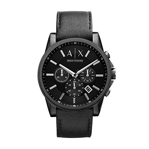 Armani Exchange Reloj analogico para Hombre de Cuarzo con Correa en Acero Inoxidable AX2098