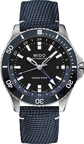 Mido orologio Ocean Star GMT 44mm Ceramica BLU automatico M026.629.17.051.00