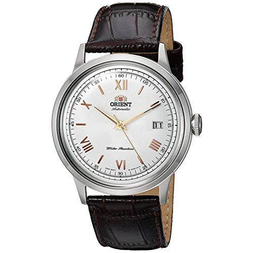 Orient Reloj Analógico para Hombre de Automático con Correa en Cuero FAC00008W0