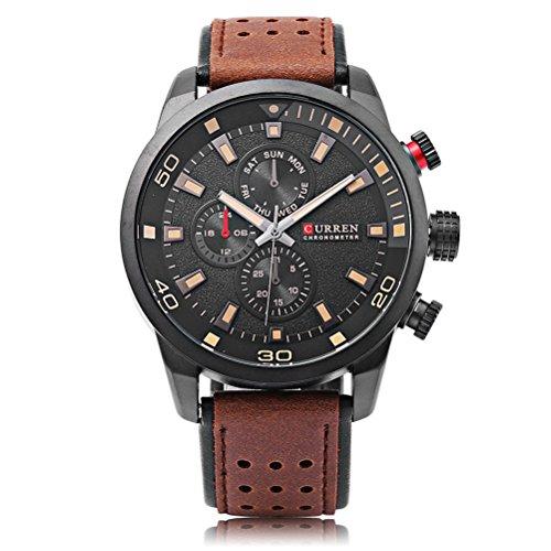 CURREN 8250 Sport Men Quartz Watch Moda Simple Relogio Masculino Hombres Relojes Militares