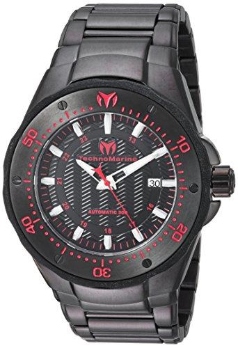 Technomarine Reloj analógico para Hombre de Automático con Correa en Acero Inoxidable TM-215097