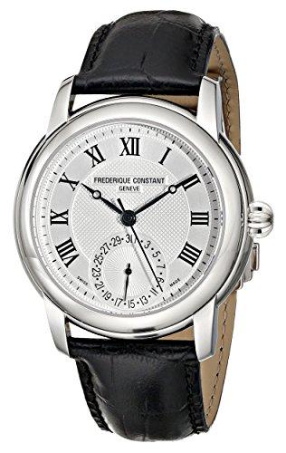 Frederique Constant Geneve Classics Manufacture FC-710MC4H6 Reloj Elegante para Hombres Calibre de Manufactura