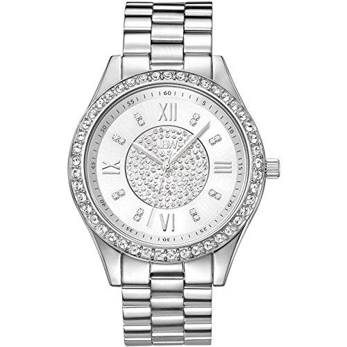 JBW Mondrian Reloj DE Mujer Cuarzo 37MM Correa Y Caja DE Acero J6303A